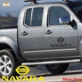 Nissan Navara Yan Kapı Off Road Oto Sticker 1 Adet
