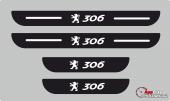 Peugeot 306 Plastik Kapı Eşiği (4lü Set)
