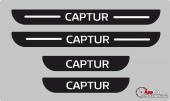 Renault Captur Plastik Kapı Eşiği (4lü Set)