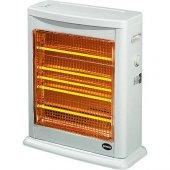 Elektrikli Isıtıcı Şamdan 3009 2750 W Buharlı + Termostatlı Quartz Soba