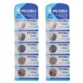 Pkcell Lityum Düğme Pil 3v Cr2025 10 Adet