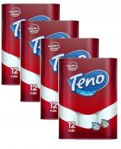 Teno Kağıt Havlu 12 Li 4lü Set