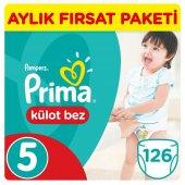 Prima Külot Bebek Bezi 5 Beden Junior Jumbo Paket 42 Adet 3lü Set