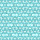 Mavi Zemin Üzerine Beyaz Kar Tanesi Desenli Keçe Plaka (Dk P81)