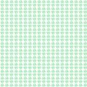 Beyaz Zemin Üzerine Yeşil Fil Desenli Keçe Plaka (Dk P50)
