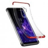 Baseus Armor Samsung Galaxy S9 Plus Kırmızı Kılıf Arka Koruyucu K