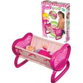 Evcilik Oyunları Candy Bebek Beşiği Oyuncak Beşik Çocuk Hediyesi