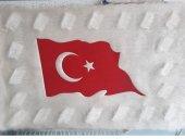 Siirt Doğal El İşleme Türk Bayrağı