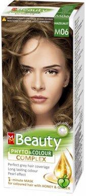 Beauty Doğal Bitkisel Saç Boyası M06 (Fındık Kabuğu)
