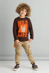 Wild Life Erkek Çocuk Kanvas Takım