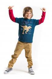 Denokids Tyranno Rex Erkek Çocuk Kanvas Takım