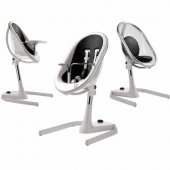 Mima Moon 2g+seat Pad+booster+footrest White Black