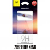 Iphone X 5d Full Kaplayan Zore Fiber Nano Kırılmaz Cam İdeal Telefon
