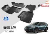 Honda Crv 2012 Sonrası 3d Havuzlu Paspas