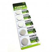Tınko Cr2025 3volt Lithium Pil 5adet Kargo Ücretsiz