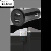 Ttec Quantum Duo İphone & İpad İçin Apple Lisanslı Usb Araç İçi Şarj Aletleri
