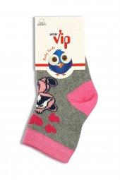 Vip 102 154 Kız Çocuk Havlu Soket Çorap