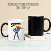 Süperman Kişiye Özel Sihirli Kupa Pi208