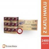 Selpak Prof. Extra Z Katlama Dispenser Havlu 200 Yaprak 12 Paket