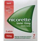 Nicorette Invisi 2.adım 15mg Nikotin Bandı 7 Bant