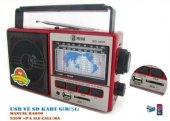 Mega Mg 992 Usb Ve Kart Girişli Manuel El Radyosu