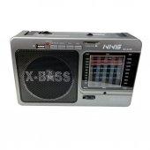 Nns Ns 025u Mp3 Sd Usb Lcd Şarjlı Fenerli Radyo