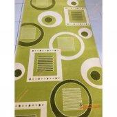 Fırsat Ürünü 100 Akrilik Yolluk Padişah Halı Yeşil Klasik 80x150
