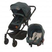 Baby2go 8046 Caromio Yeşil Bebek Arabası