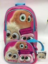 Angry Birds Hatchlings Okul Ve Beslenme Çantası