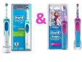 Oral B Vitality Cross Action Şarj Edilebilir Diş Fırçası+çocuk Fr