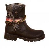Elifsu 1879 Termal Fermuarlı Kışlık Kız Çocuk Bot Ayakkabı