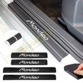 Ford Mondeo Karbon Kapı Eşiği Sticker (4 Adet)