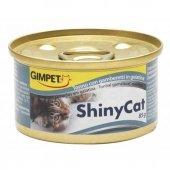 Shiny Cat Ton Balıklı Ve Karidesli Konserve Mama 70 Gr