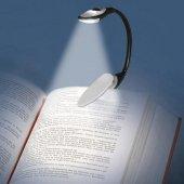 Led Booklight Kıskaçlı Kitap Okuma Işığı Pilli Model Led Işık