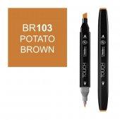 Touch Twın Marker Br103 Potato Brown