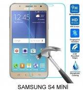 Samsung S4 Mini Kırılmaz Temperli Cam Ekran Koruyucu