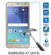 Samsung A7 (2015) Kırılmaz Temperli Cam Ekran Koruyucu