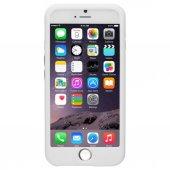 Ozaki Macaron Silikon İphone 6 6s Kılıfı Beyaz