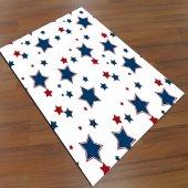 Eç 0117 3d Yıldızlar Çocuk Halısı