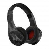 Motorola Pulse Escape + Su Geçirmez Bluetooth Kulaklık Kamuflaj