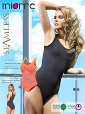 Miorre Çıtçıtlı Body Seamless Bayan Kalın Askı