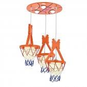 Eray Aydınlatma 5613 6 Powerled Basketbol Modeli Çocuk Avizesi