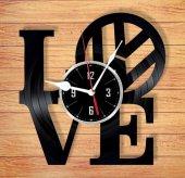 Dekoratif Ahşap Duvar Saati İşletmeye Özel Saat Tasarımları