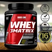 Hardline Whey 3 Matrix 908 Gr Protein Tozu Skt 02....