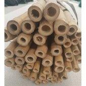 Bambu Cubuk 360 Cm 15 30 Mm 5 Adet Bambu Bitki Destek Çubuğu Dekoratif Bambu Çubuk