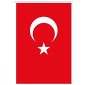 Stor Perde Türk Bayrağı 68x102 Cm