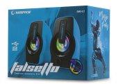Rampage Rms G7 Falsetto 2.0 6 Watt 50hz 20khz Mavi Multimedia 5v Usb Speaker