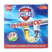 Vissmate Lavabo Açıcı 2x70 Gr