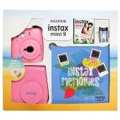 Fujifilm Instax Mini 9 Kit Pembe Seri 2