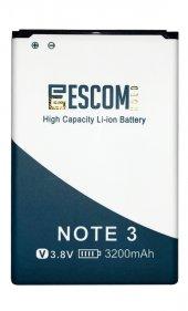 Escom Samsung Galaxy Note 3 N9000 Batarya 3200 Mah